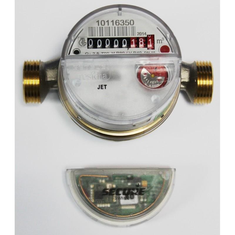 Contador de agua inalambrico z wave de secure mod swm301 - Contador de agua ...
