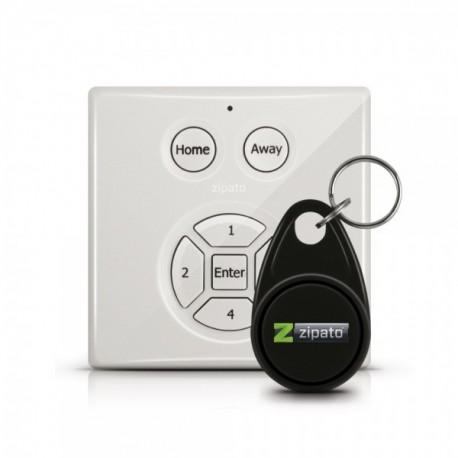 Teclado Z-Wave para codigos con lector de tags RFID de Zipato
