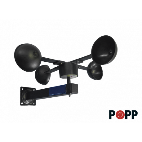 Anemometro Z-Wave Sensor multifuncional para exterior Z-Weather de Popp