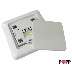 Z-Wave wireless surface switch / controller with Popp battery