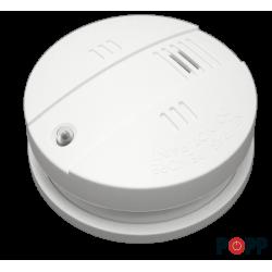 Sensor de fumaça Popp com função de sirene Z-Wave Plus para interior