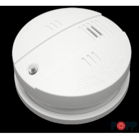 Sensor de Humo Z-Wave con función de sirena interior de Popp