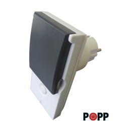 POPP External plug IP44 Z-Wave Plus