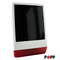 POPP Solar Siren for outdoor
