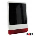 POPP Solar Siren para outdoor