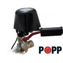Anti fugas Flow Stop de Popp para corte en válvulas