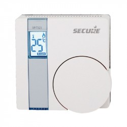 SECURE SRT323 Termostato Z-Wave con pantalla LCD y relé integrado