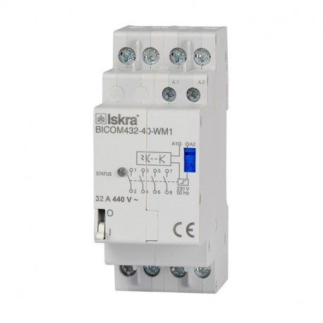 QUBINO Interruptor biestable 32A para Smart Meter