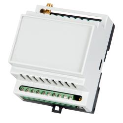 Discador de telefone GSM com 5 entradas e 2 saídas de relé