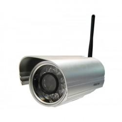 Foscam FI9804W ao ar livre Wi-fi IP Câmera 1.0Mpx H264 Compatível ONVIF