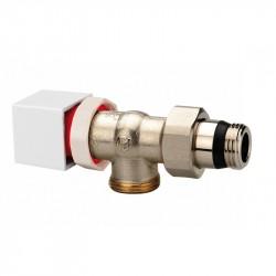 Válvula Orkli termostátizable de escuadra invertida 1/2'' macho