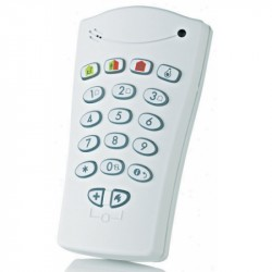 Visonic KP-140PG2. Two-way radio alarm keypad PowerG