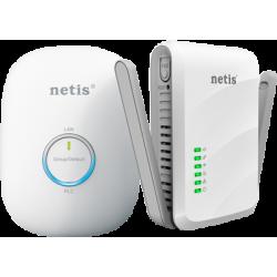 NETIS PL7622KIT Kit 1 PLC 600 Mbps con RJ45 + 1 PLC WiFi 300 Mbps