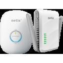 Kit NTIS PL7622KIT 1 PLC 600 Mbps com RJ45 + 1 WiFi 300 Mbps PLC