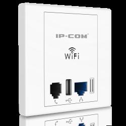 IP-COM W30AP Punto de acceso Wifi 300 Mbps para pared con PoE