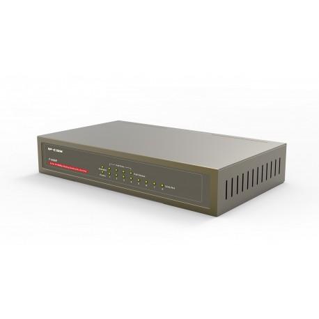 IP-COM F1008P Switch con 8 puertos 10/100 Mbps Half Power (4 POE 60W) sobremesa
