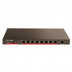 IP-COM G1009P-EI switch de 9 puertos 10/100/1000 Mbps Full Power (8 POE 120W) sobremesa