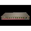 IP-COM F1109P Switch de 9 puertos 10/100 Mbps Full Power (8 POE 120W) y VLAN sobremesa