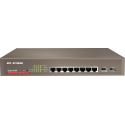 IP-COM G3210P Switch Gigabit 10 puertos (8 RJ45+2 SFP) Full Power (8 POE 120W) Web Smart Rack 19""