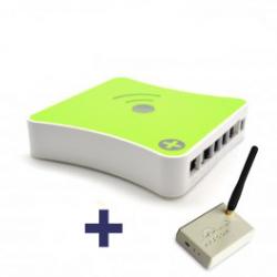 Pack de interface de rádio transceptor RFXCom + Domotic controller eedomus +