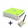 Pack de interfaz transceptor radio RFXCom + Controlador domotico eedomus+