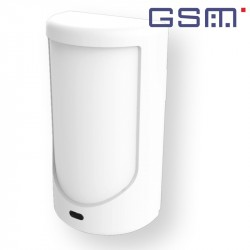 Compact GSM alarm integrated in BYDom E3-PIR motion detector