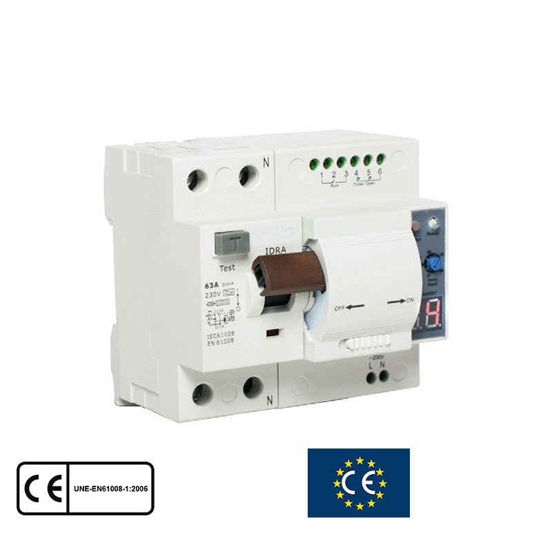 Cambiar diferencial cuadro electrico free imagejpeg with for Diferencial rearmable schneider
