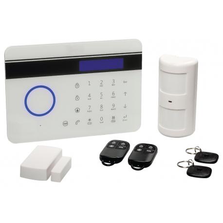 Alarma Sin Cuotas Kit inalámbrico PSTN/GSM