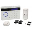 Alarma Sin Cuotas SmartKit-Alarm inalámbrica conexion mixta PSTN/GSM