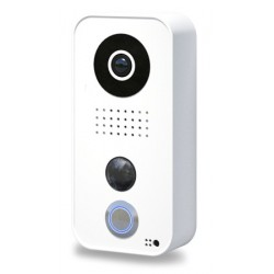 DOORBIRD D101 - WIFI / IP video door phone connected to internet