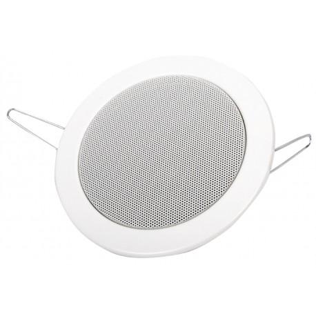 Altavoz de empotrar en techo 8 Ω 30 W blanco
