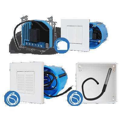 Qubino Flush heat & cool thermostat