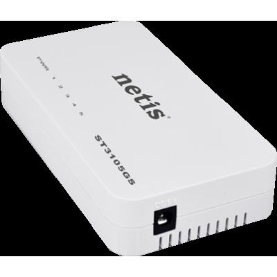 Mini switch gigabit ethernes NETIS ST3105GS 5 puertos