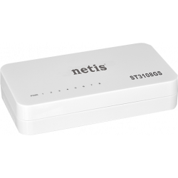 Mini switch gigabit ethernes NETIS ST3108GS 8 puertos
