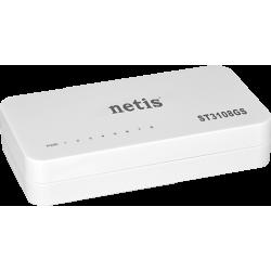 NETIS ST3108GS - Formato mini de 8 portas Gigabit