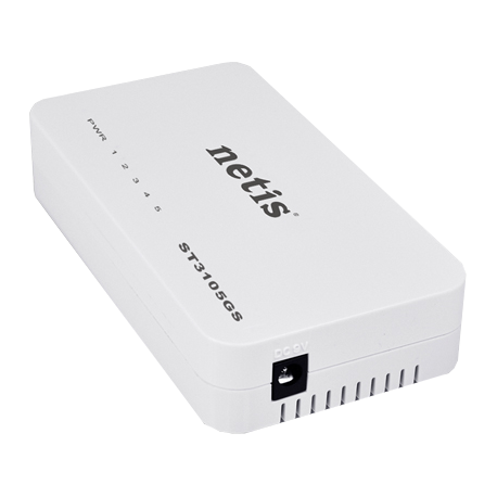 Mini switch gigabit ethernes NETIS ST3105GS 5 puertos