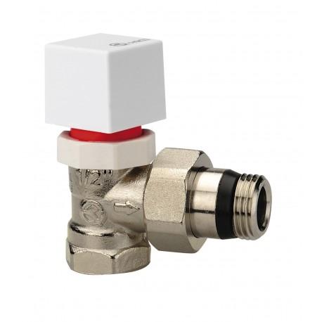 Válvula Orkli termostátizable de escuadra 3/8 macho