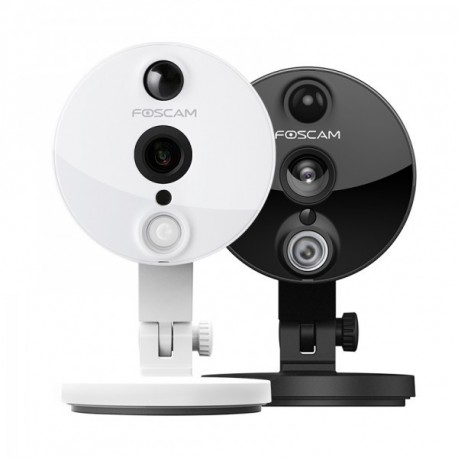 Foscam C2 camara IP WIFI 2.0 Mpx Blanca H264. con ranura Micro SD Grabación de Alarmas en vídeo