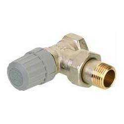"""Danfoss RA-FN 013G0021 3/8 """" válvula termostática quadrada para instalações de tubo duplo"""
