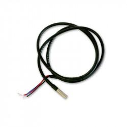 Sonda de temperatura DALLAS DS18B20 1-fio resistente à água (cabo 1m)