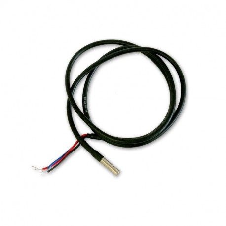 Sonda de temperatura DALLAS DS18B20 1-Wire resistente al agua (cable 1m)