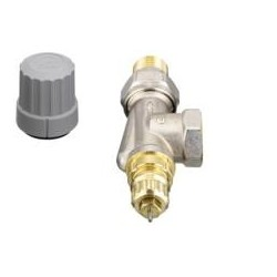 "Danfoss thermostatic valve range RA-FN 1/2"" inverted square for twin-tube installations 013G0143"