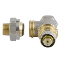 """Gama de válvulas termostáticas Danfoss RA-N 3/8"""" quadrado para instalações bitubo 013G1011"""