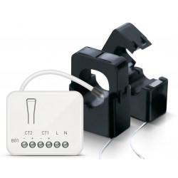ZIPATO - Micromódulo Z-Wave + Energy Meter (com 2 grampos)