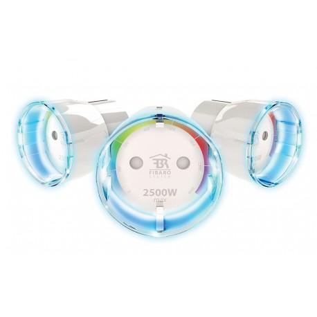 Enchufe controlado (on/off) con medidor de consumo de Fibaro