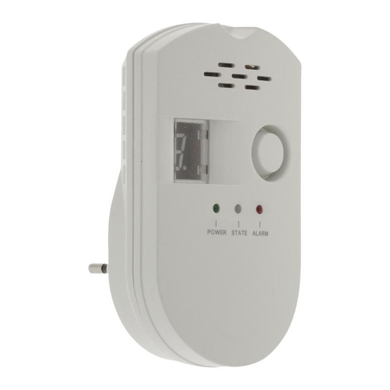 Detector de gas natural gas ciudad propano detector - Detector co2 domestico ...