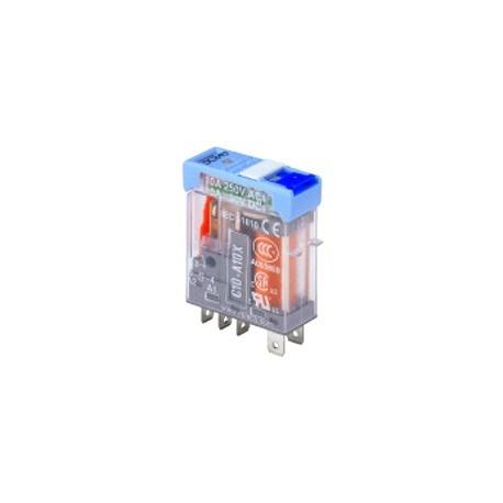 Mini Rele Releco C12 230V AC 5A 2 Ctos.
