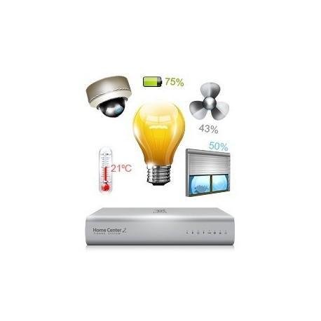 Pré-configuração antes de enviar domótica e sistemas