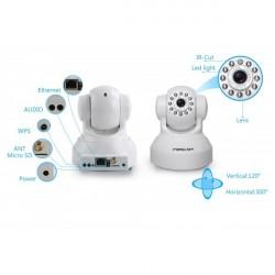 Foscam FI9816P - Câmera IP (1,0 Mpx, 720p), Wi-Fi, Slot Micro SD, Detecção Mov. Visão noturna