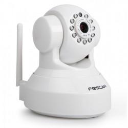 Foscam FI9816P - Cámara IP (1,0 Mpx, 720p), Wifi, Slot Micro SD, Detección Mov. Visión nocturna